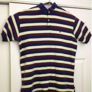 Vintage 80s Polo Ralph Lauren Multicolor Striped